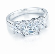 Three stone diamond ring by NEI Group