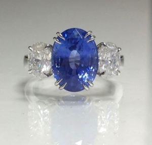 Ceylon Sapphire from AGS Gems