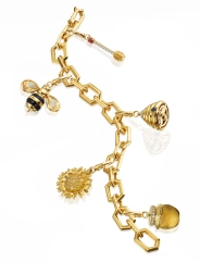 Charm bracelet from Gumuchian's B collection