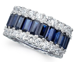 Luxury-Elegant-Sumptuous-Sapphire-Jewelry-Design-of-Baguette-Cut-Cake-Ring-for-Gift-Ideas-by-CRISLU-Jewelry-Los-Angeles1