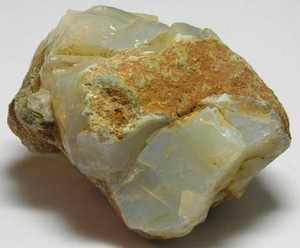 Rough White Opal