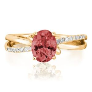 Garnet ring from Parlé Jewelry Designs