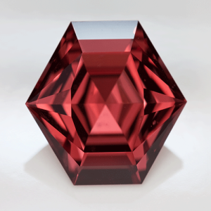 Red Garnet polished gemstone