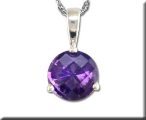 Amethyst pendant from Parlé Jewelry Designs