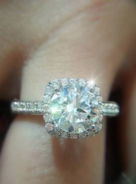 A sparkling, clean ring from Steve Padis Jewelry!