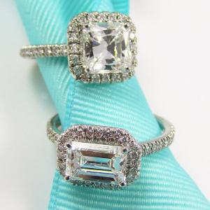 Diamond engagement rings by Suna Bros.
