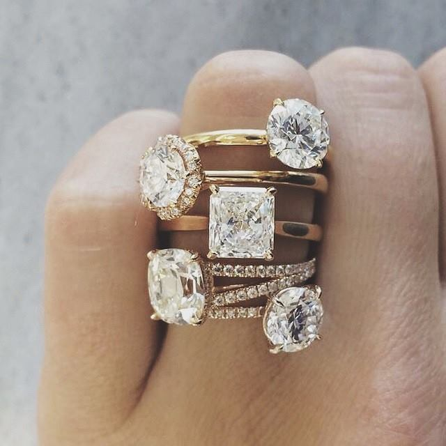 Engagement rings by Ritani.