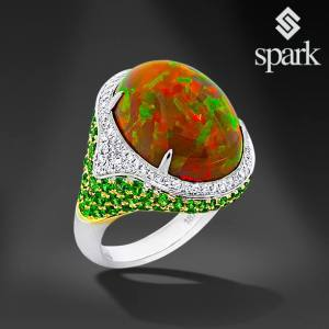 Ring from Spark Creations