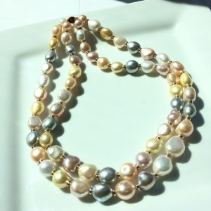 Pearl Necklace from Mastoloni Pearls