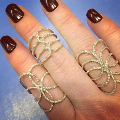 Rings by KC Designs.