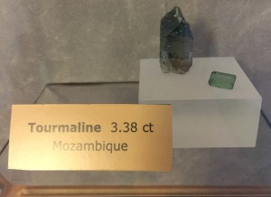 Tourmaline from AGS headquarters