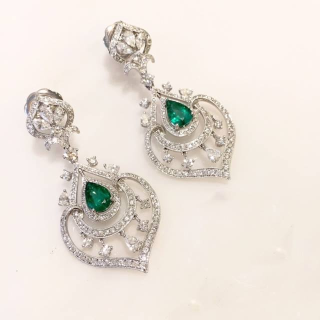 emeralds and diamonds the perfect pair american gem
