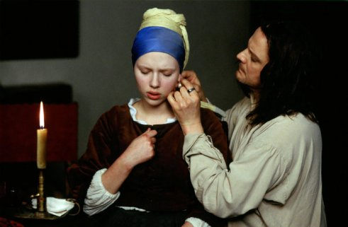 ACK65796.jpg DAS MADCHEN MIT DEM PERLENOHRRING / Girl with a Pearl Earring UK/Luxembourg 2003 / Peter Webber Griet (SCARLETT JOHANSSON) und Vermeer (COLIN FIRTH) ||rights=ED