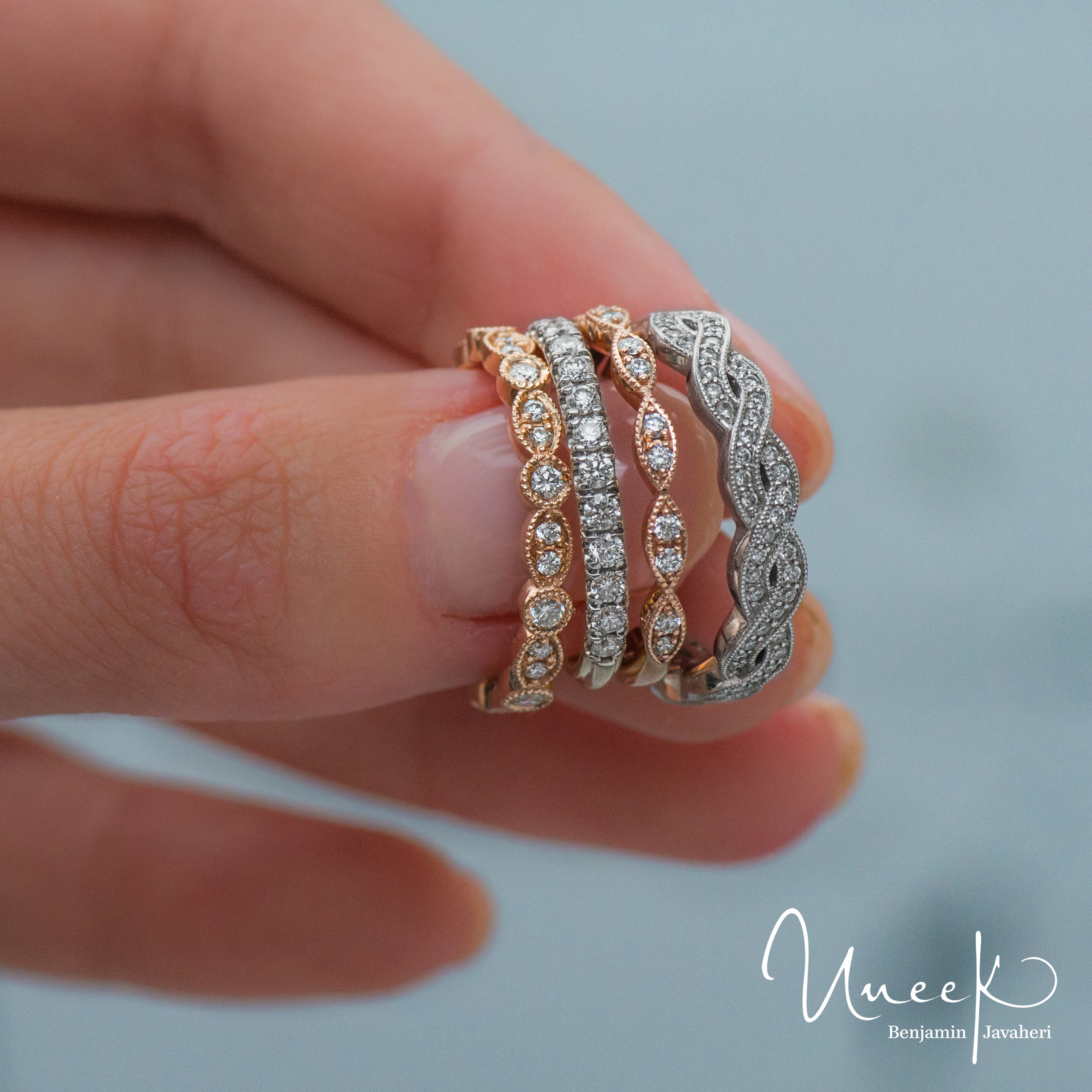 com wedding channel stack beautiful sets of ring stacking set fresh rings e matvuk