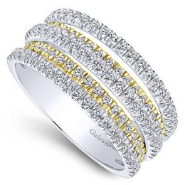 Gabriel-14k-Yellow-And-White-Gold-Lusso-Wide-Band-Ladies-Ring_LR50892M45JJ-3